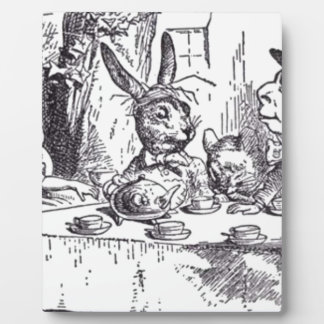 Mad Hatter Tea Party Plaque