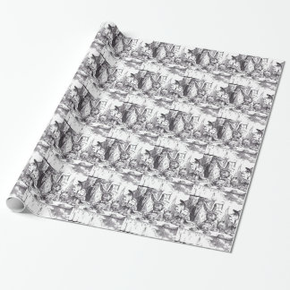 Mad Hatter Tea Party Wrapping Paper