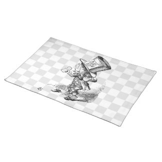Mad Hatter with Biscuit and Tea Placemat