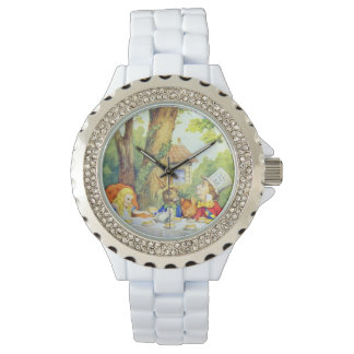 Mad Hatters Tea Party Full Color Wristwatches