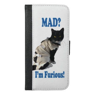 Mad I'm Furious iPhone 6/6s Plus Wallet Case
