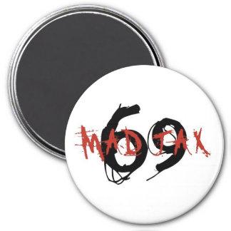 mad jax 69 3 inch round magnet
