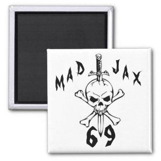 Mad Jax 69 skull Magnet