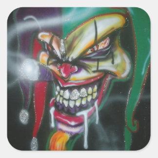 Mad Jester Stickers