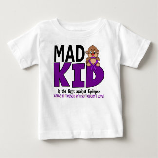 Mad Kid Epilepsy Baby T-Shirt