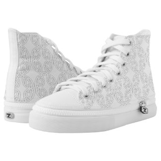 MAD MAREIKURA White High Top Shoes