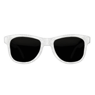 MAD MAREIKURA White, Premium Smoke Sunglasses