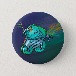 MAD MAX CHICKEN ROBOT Button 2¼ Inch