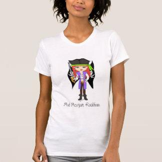 Mad Morgan Rackham Pirate  Faery T-shirt