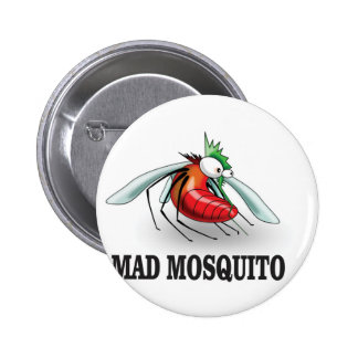 mad mosquito yeah 2 inch round button