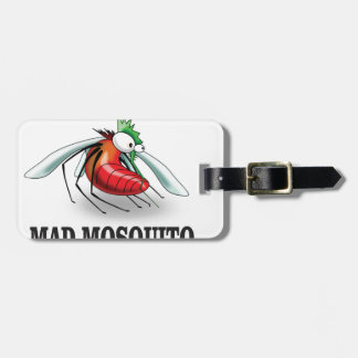mad mosquito yeah bag tag