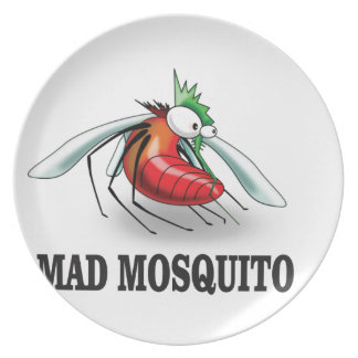 mad mosquito yeah plate