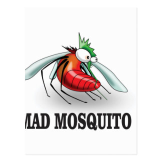 mad mosquito yeah postcard
