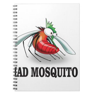 mad mosquito yeah spiral notebooks