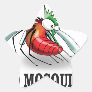 mad mosquito yeah star sticker