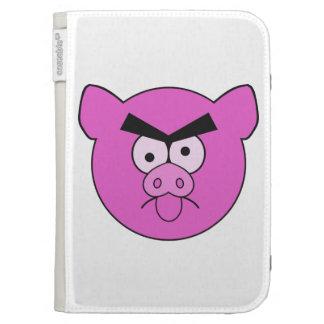 Mad Pig custom Kindle case