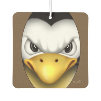 MAD PINGOUIN CARTOON Air Freshener square