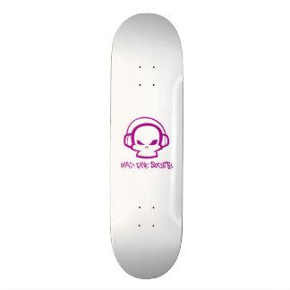 Mad Pink Society 21.6cm Skate Board Deck
