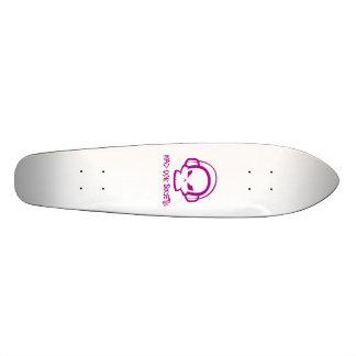 Mad Pink Society Skateboard 18.1cm