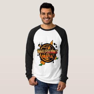 Mad Rabbit Men's Canvas Long Sleeve Raglan T-Shirt
