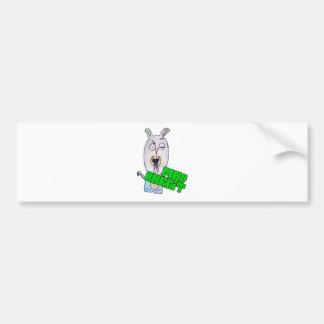 Mad Rabbit Products Bumper Sticker