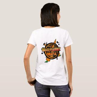 Mad Rabbit Women's Basic T-Shirt, White T-Shirt