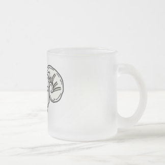 Mad RaM Frosted Glass Coffee Mug