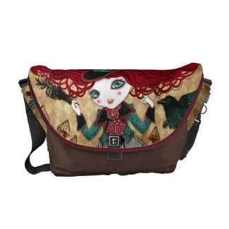 Mad Riddle Messenger Bag