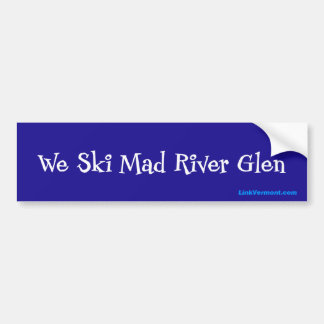 Mad River Glen Bumper Sticker