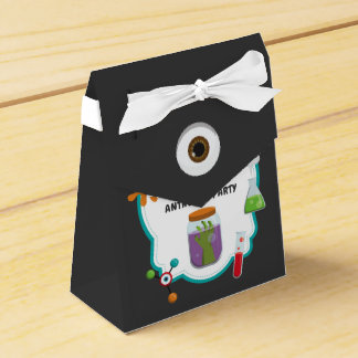 Mad Science Birthday Party Guest Favor Favor Box