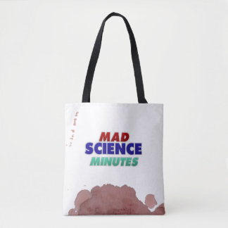 Mad Science Minutes Tote—pre bloodstained! Tote Bag