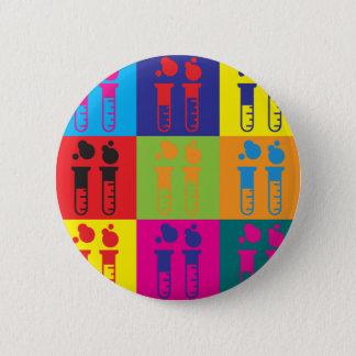 Mad Science Pop Art 2 Inch Round Button