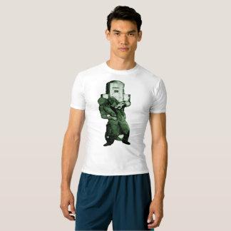 Mad Science Robot Attacks! rashguard T-shirt