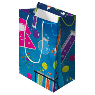 Mad Science Scientist Birthday Party Gift Bag