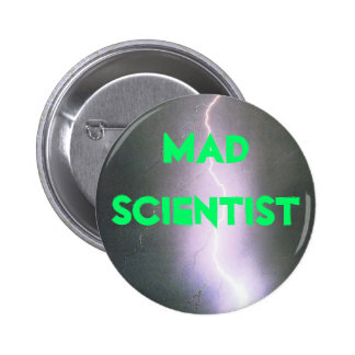 mad scientist 2 inch round button