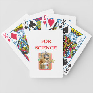 mad scientist bicycle playing cards