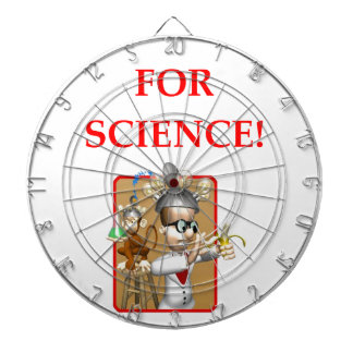 mad scientist dartboard