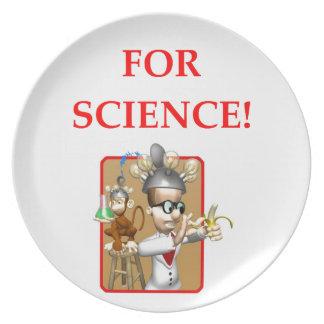 mad scientist dinner plates