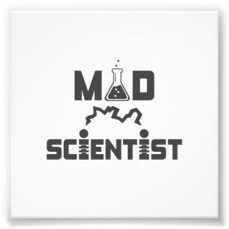 Mad Scientist Electric Science Beaker Photo Art
