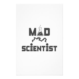 Mad Scientist Electric Science Beaker Stationery