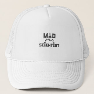 Mad Scientist Electric Science Beaker Trucker Hat