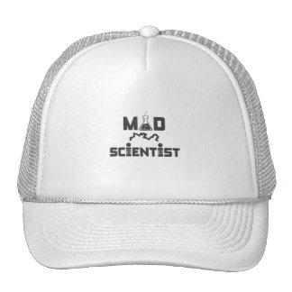 Mad Scientist Electric Science Beaker Trucker Hat