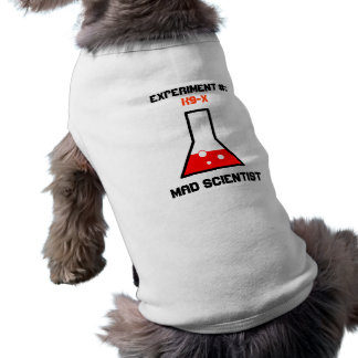Mad Scientist Experiment Outerwear Pet Clothes