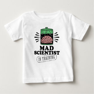 Mad Scientist in Training Baby T-Shirt