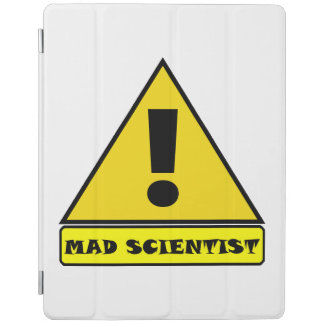 Mad Scientist ipad Case iPad Cover