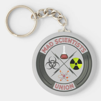Mad Scientist Keychain