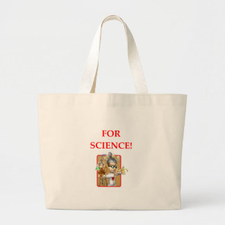 mad scientist large tote bag