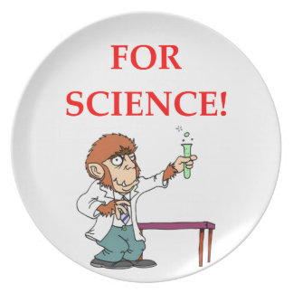 mad scientist plate
