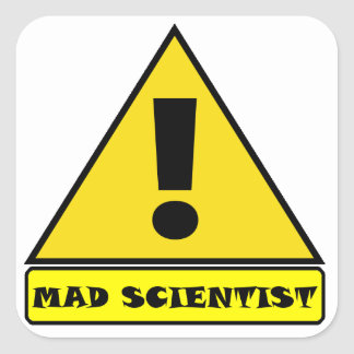 Mad Scientist Stickers