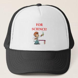 mad scientist trucker hat